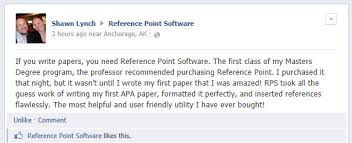 Apa Paper Writing Software Reference Point Customer Comments