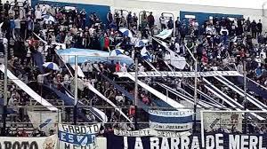 Hinchada de Deportivo Merlo vs JJ Urquiza. - YouTube