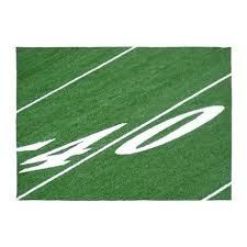 football field rug rugs area indoor outdoor yard line cowboys large