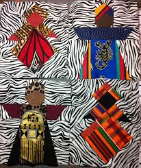 Best 25+ African quilts ideas on Pinterest | Quilt patterns, Easy ... & African Queens paper pieced 6in x 7in Adamdwight.com