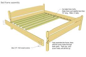 diy slat bed frame queen bed frame slats cute canopy beds queen size