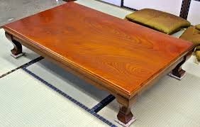 they have also given us a diverse range of tables hibachi that can be used as side or coffee tables vanities and kotatsu