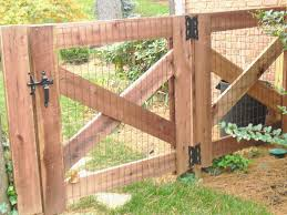 diy fences and gates wooden gate designs build a frame pre made construction plans premade how