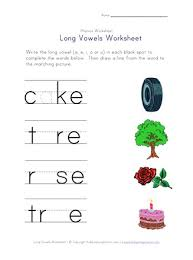 Long and short vowel grade/level: Long Vowel Matching Worksheet A E I And O All Kids Network