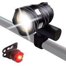 Usb Bicycle Light Set Mengs Super Bright Bike Light Set Usb Rechargeable Metal