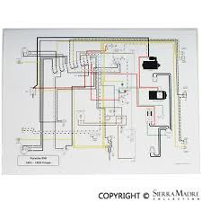 porsche parts full color wiring diagrams (50 68) porsche wiring diagrams full color wiring diagrams (50 68)