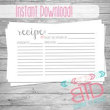 avery recipe card template 4 x 6 card template basic 4 6 templates for word avery recipe