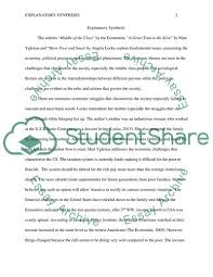 Explanatory Synthesis Essay Explanatory Synthesis Essay Example Topics And Well Written Essays