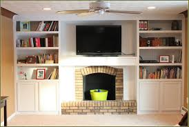 Built In Cabinets Beside Fireplace Built In Cabinets Around Fireplace Diyjpg