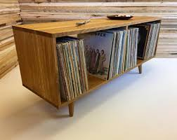 turntable furniture. perfect turntable furniture low boy mid century modern album storage console in design