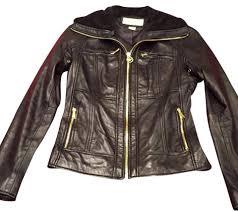 michael kors leather jacket leather jacket michael kors womens brown leather aviator jacket