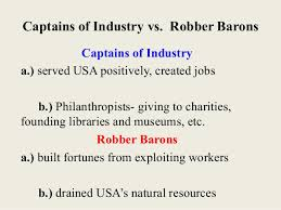 how to write a personal what does the term robber baron mean america s robber barons business insider what is a captain of industry pictures wisegeek