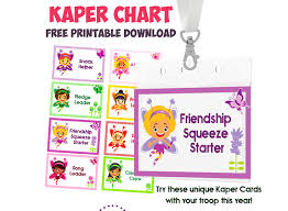 Girl Scout Daisy Kaper Chart Printable 12 Amazing Resources To Help You Plan And Organize Your