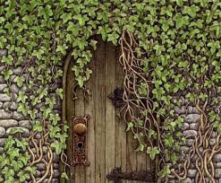 Image result for Garden door in wall