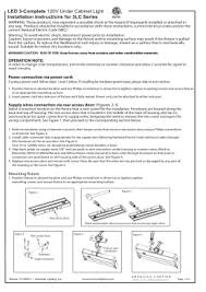 in struc tion sheet led 3 complete instructions