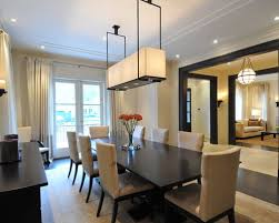 dark dining room furniture. transitional dining room photo in toronto with beige walls dark furniture t