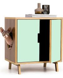 covered cat litter box furniture. Mid Century Modern Cat Litter Box Furniture SMALL Cover Pet  House MCM Walnut Covered Cat Litter Box Furniture S