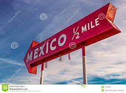 Mexico, indiana sign stock photo. Image of local, signage - 27955282