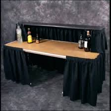 diy portable bar portable bar table where to find with black skirting in portable bar diy