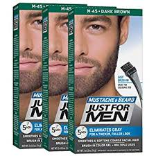 Just For Men Color Chart Just For Men Mustache Beard Color Beard Coloring For Men