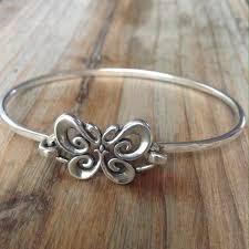 james avery erfly hook on silver bracelet