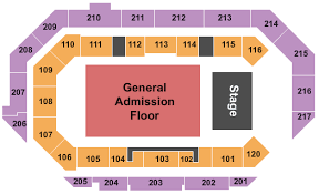 Centurylink Arena Seating Chart Boise