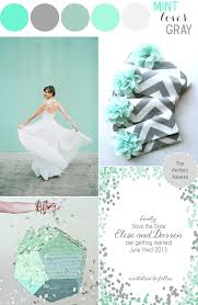 Color Story   Mint Loves Gray!