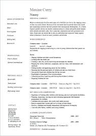 Babysitting Resume Template Custom Baby Sitter Resume Resume Template 28 Free Word Documents Download