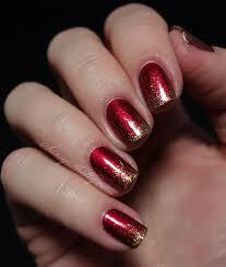 Digit-al Dozen DOES Red Gold Green ~ Day 3: Glitter Gradient   Red ...