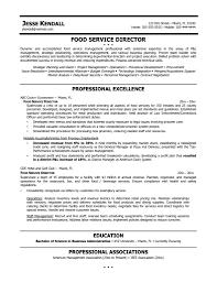 Fast Foodger Resume Restaurant Format Supervisor Objective