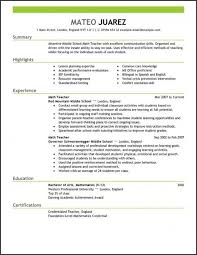 Resume Templates. Resume Template For Teachers: Teacher Resume ...