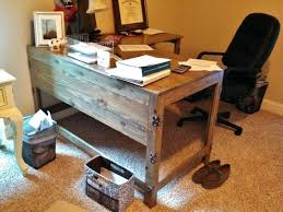 wood home office desks. Wood Home Office Desk Desks Industrial Rustic Fusion Reclaimed . K