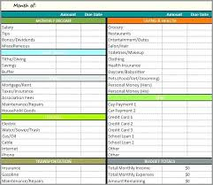 monthly household expenses sheet monthly home expenses template blank household expense sheet monthly