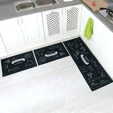 black kitchen rugs black kitchen rugs 4 3 piece non slip kitchen mat rubber with non