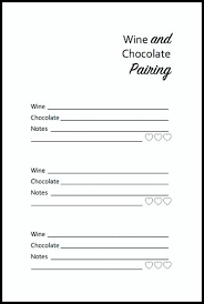 Wine And Chocolate Pairings Chart Easy Wine And Chocolate Pairing Tips Hello Little Home