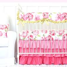 caden lane crib bedding lanes pink petunia is the perfect set for a fl and gold sets