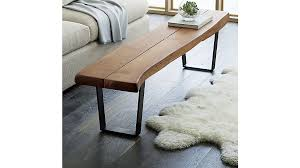 elegant bench coffee table yukon large crate and pertaining to design 6