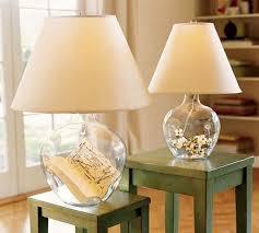 bedside lamps blue