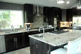 Expresso Kitchen Cabinets Lennar Espresso Kitchen Cabinets White Granite Google Search