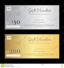 Gift Certificate Template With Logo Gift Voucher Or Gift Certificate Template In Luxury Theme