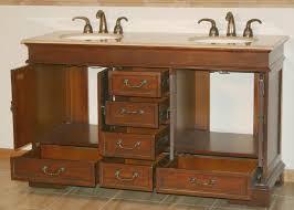 60 vanity double sink top. 60 ashley bathroom vanity double sink cabinet red chestnut top