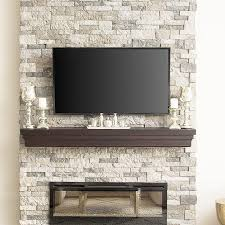 image result for how to build a faux stone fireplace