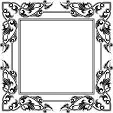 Free Vector Oval Vintage Frame Design