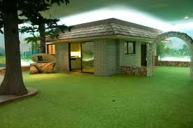 Houses Built Underground Vintage Nuclear Bunker Is A Complete Underground House With