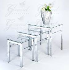 glass coffee and end table sets medium size of living furniture living room glass table sets