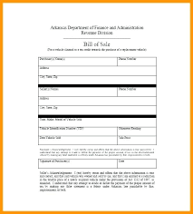Free Automobile Bill Of Sale Template – Poquet