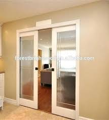 peachy frosted glass pocket door double doors interior home depot sliding for bathroom d