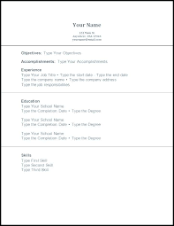 No Experience Student Resumes Resume Template No Experience Student Bitacorita