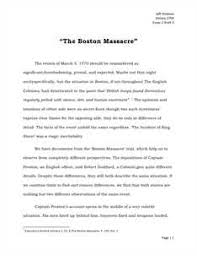 boston massacre essays and papers helpme the boston massacre essay draft 3 1