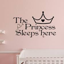 home wall art princess sleeps here wall decals home decor wall art quote bedroom wallpaper wall sticker in wall stickers from home garden on  on wall art sayings for bedroom with home wall art princess sleeps here wall decals home decor wall art